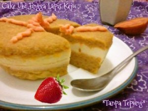 Cake Ubi Jingga