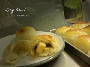 Lazy Bread Pisang Keju