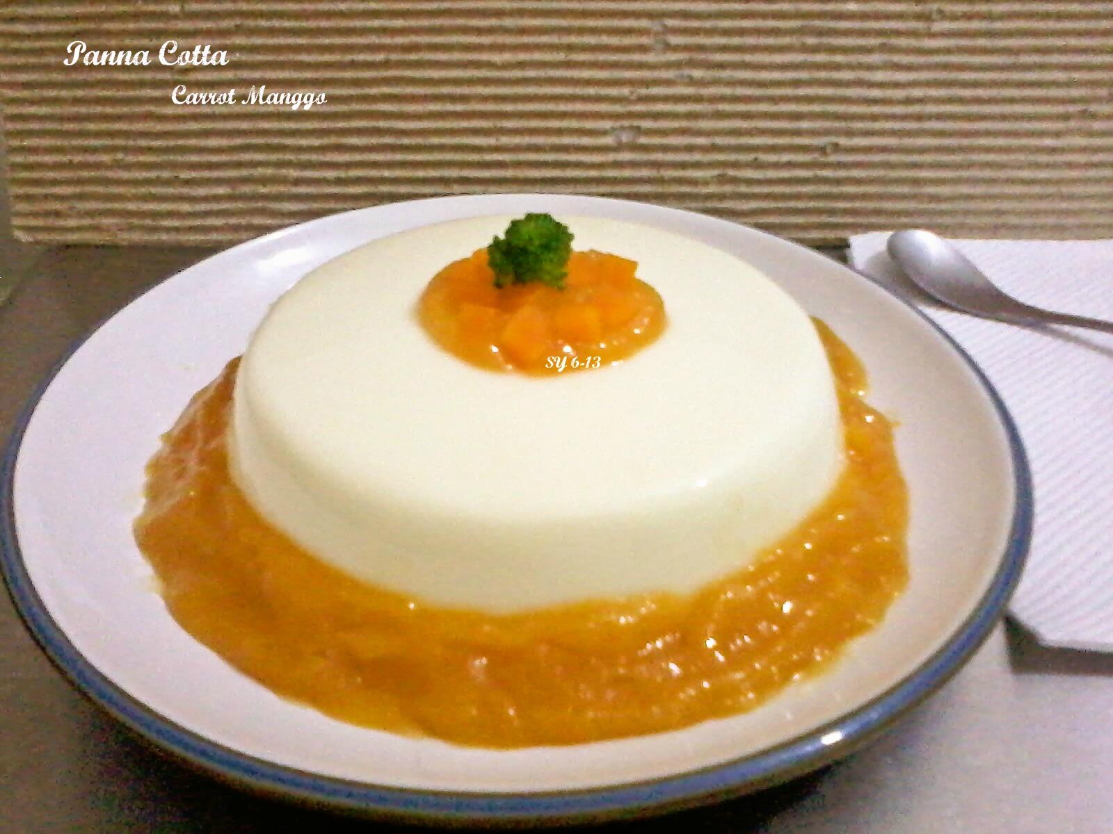 Panna Cotta adalah puding khas Itali yang super lembut dan creamy