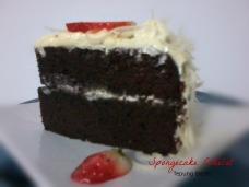 Spongecake Cokelat Tepung Beras
